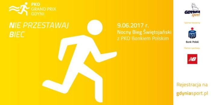 Nocny Bieg Świętojański PKO Grand Prix Gdyni 9-10 Czerwiec