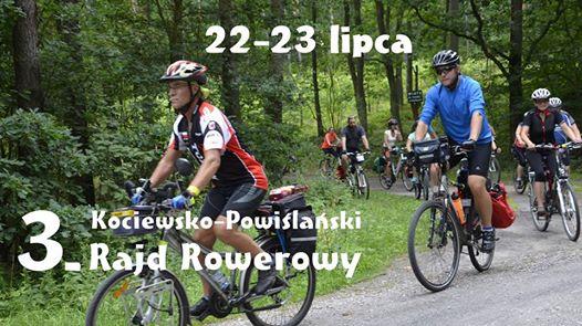 3. Kociewsko-Powiślański Rajd Rowerowy 22-23 Lipca 2017 R.