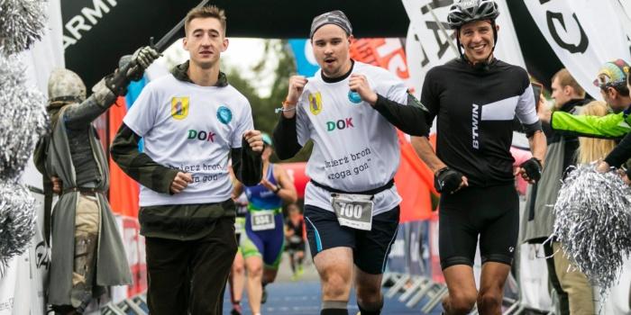 Castle Triathlon Malbork – Sztafeta 1/2 IM 02.09.2017